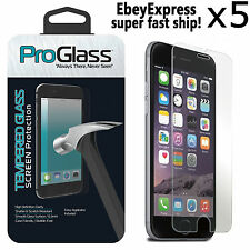 5 Ultra Thin Premium Real Tempered Glass Film Screen Protector for iPhone 6 6S