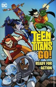 Teen Titans Go Ready for Action TPB #1-REP NM 2018 Stock Image
