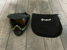 Virtue Vio Contour Graphic Jungle Camo Mask Goggles Visor Black Mask Bag