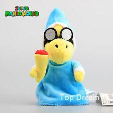 Super Mario Bros. Magikoopa Kamek Mario Witch Turtle Plush Toy Soft Doll 8'' NWT