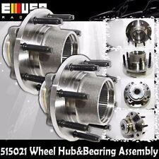 1PAIR FRONT Wheel Hub&Bearing 00-04 Ford F250/350 Super Duty SRW 4WD w/REAR ABS