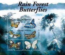 St. Vincent 2001 - SC# 2920 Rain Forest Butterflies, Bird - Sheet of 6 - MNH