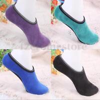 1 Pair Women Men Girls Children Non Slip Slipper Socks Fleece Gripper 5 Sizes