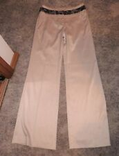 EVENTS COLLECTION DRESSY CREAM PANT SIZE 8