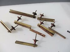 Vintage Bakelite & Brass Drawer Handles Pulls Old    SPARE / PARTS / REPAIRS
