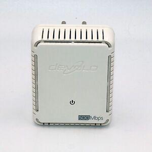 devolo dLAN 500 duo (MT 2506) Powerline Adapter 2 LAN Anschlüsse