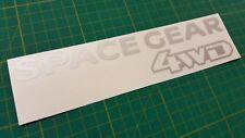 Mitsubishi Delica L400 Space Gear rear decal sticker graphic 4WD Intercooler