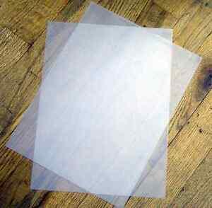 50 Sheets 48 lb HeavyWeight Vellum Paper Translucent / Transparent  Paper 8.5x11