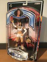 MOC WWE Wrestlemania 21 Victoria Action Figure  Jakks Pacific 2004