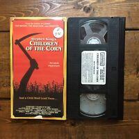 Children Of The Corn VHS Starmaker Horror Linda Hamilton Stephen King