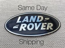 1PC LAND ROVER BLACK TRUNK decal LOGO Grill Tailgate EMBLEM nameplate
