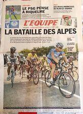 L'Equipe Journal 12/7/2003; Le PSG pense à Riquelme/ Blain et Thomas/ Tour de Fr
