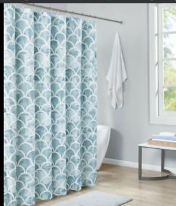 Madison Park Essentials Finn Printed Shower Curtain
