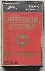 Jefferson Starship, Red Octopus. Cassette Album Grunt Play Tested