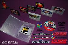 UNIVERSAL GAME CASE - Boitier universel plastique de remplacement jeu video x10