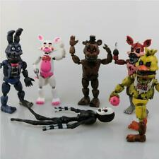 6Pcs/set Figures Toys Five Nights At Freddy's Action Figure Toy FNAF Teddy Bear.