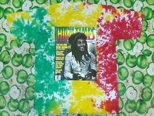 VINTAGE BOB MARLEY BY HIGH TIMES MAGAZINE COVER REGGAE SKA TIE DYE T SHIRT XL