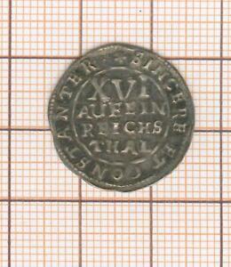 BRUNSWICK-LUNEBURG-CELLE 1/16 Thaler 1655