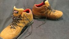 RED WING TRUHIKER Brown Leather  Waterproof VIBRAM Hiking WORK BOOTS ~ Size 10.5