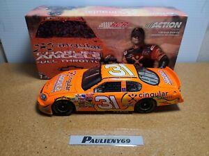 2003 Robby Gordon #31 Cingular / Charlie's Angels 2 RCR 1:24 NASCAR Action MIB