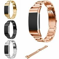 Sports Watch Bands Replacement Stainless Steel Loop Bracelet For Fitbit Charge 2