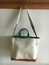 COACH 70897 BLEECKER SV/NA Natural  Canvas Beach Tote Shoulder Bag