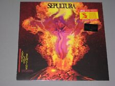 SEPULTURA Above the Remains Live '89 (Trans Red Vinyl)  Rocktober New Sealed