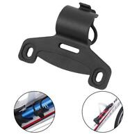 Bike Bicycle Pump Holder Mount Bracket 20mm Tube Retaining Fitted Fixed Clip New