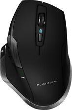 Platinum - Bluetooth Laser/Optical Mouse - Black