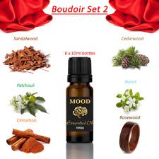 Boudoir Essential Oils Sandalwood Patchouli Cinnamon Cedarwood Neroli Rosewood