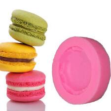New listing Hot Silicone Macaron Shape Cake Fondant Mold Decor Baking Tool Mould Sugar Craft