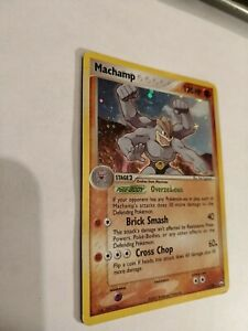 Machamp 11/108 -   Holo Rare - Ex Power Keepers MP/HP 2007 Nintendo