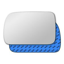 Left wing self adhesive mirror glass for Kia Picanto 2004-2007 344LS