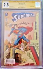 DC Comic SUPERMAN #50 CGC SS 9.8 BATMAN 1:100 Variant Justice WONDER WOMAN FLASH