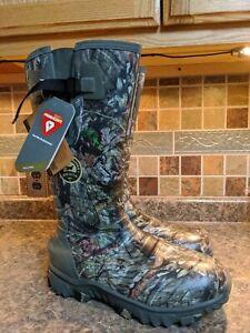 "Irish Setter Men's 4883 Rutmaster 2.0 17"" 800-Gram Rubber Boot Camo NEW Size 13"