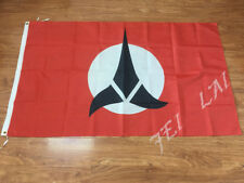 STAR TREK KLINGON FLAG 3x5FT 90x150CM TWO GROMMETS