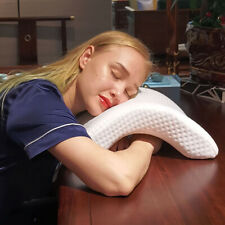 Contour Memory Foam Pillow Orthopedic Cervical Relax Firm Arm Back Multifunction