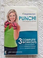 PUNCH! WITH WEIGHTED GLOVES – DVD, R-4, LIKE NEW, FREE POST WITHIN AUSTRALIA