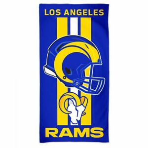 Los Angeles Rams Fiber Beach Bath Towel