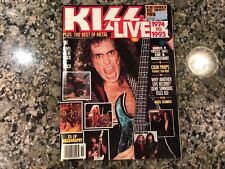 Kiss Live 1974 To 1993 Magazine! Movie Mirror October 1993!