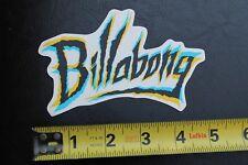 New listing Billabong Neon Thrash Logo Surfboards Rare Vintage Surfing Sticker