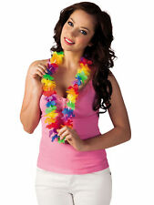 Hawaii Blütenkette Kette Rainbow bunt Hawaiiparty Beachparty Karibische Nacht