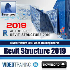 Revit Structure 2019  Video Training Course (Imperial) & Projects DOWNLOAD