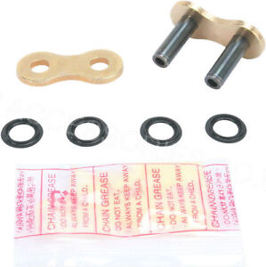 DID Gold X-Ring Hollow Soft Rivet Link for 530 Motorcycle Chain 50VX G&B530VX