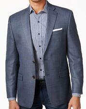 Lauren Ralph Lauren Blazer Size 44L Men Suit Jacket Classic Fit Silk Windowpane