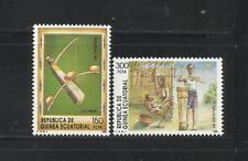 GUINEA ECUATORIAL. Año: 1989. Tema: NAVIDAD.