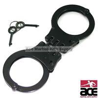 NIJ APPROVED Double Lock Stainless Steel Law Enforcement Handcuffs 30094