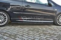 SIDE SKIRTS ADD-ON DIFFUSERS VAUXHALL/OPEL CORSA D VXR (2004-2014)