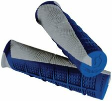 Scott Deuce ATV Handlebar Grips - BLUE/GREY - Single Density -