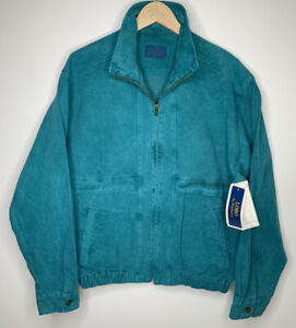 VTG Pendleton Lobo Pigment Dyed Canvas Work Jacket Made In USA New With Tags - M